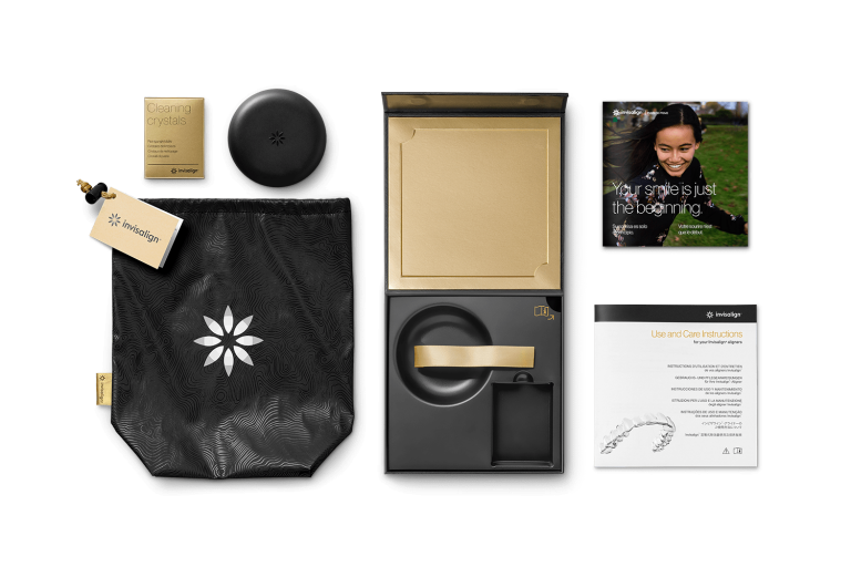 Invisalign patient welcome kit